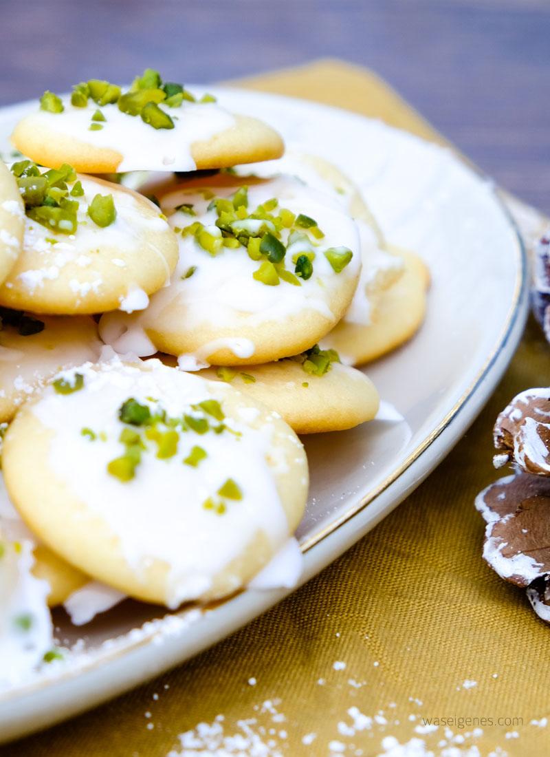 Rezept: Zitronen Ricotta Kekse | Weihnachtsbäckerei mit dem Thermomix | waseigenes.com