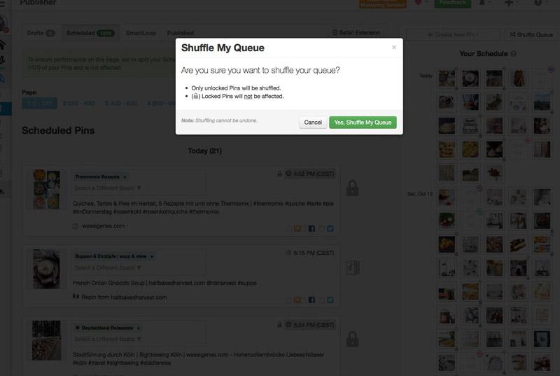 So nutze ich Tailwind zum Planen meiner Pinterest Bilder | Mein Tailwind-Pinterest-Workflow | Pins über #Tailwind planen | waseigenes.com