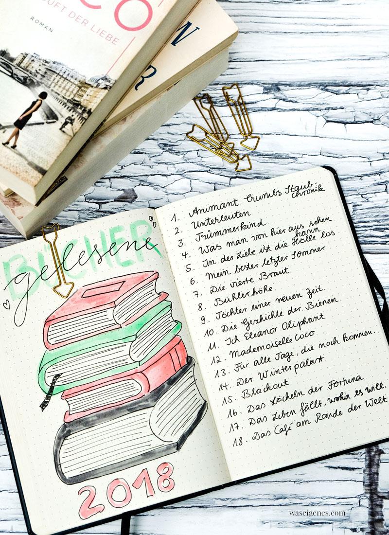 Bücherliste 2018, Buchtipps, Buchempfehlungen, #Lieblingsbücher, waseigenes.com