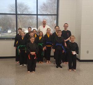 Karate class in Cedar Rapids