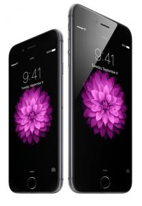 Das iPhone 6 (li.) und das iPhone 6 Plus. Foto: (c) Apple