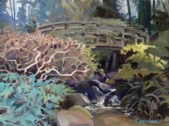 sanson - Across - portland japanese gardens