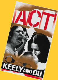 Jane Martin's Keely and Du was a finalist for the Pulitzer Prize. This program cover is from a 1994 production by Seattle's ACT Theatre.