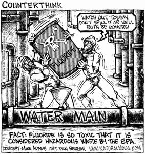 Fluoridation Toxic Waste