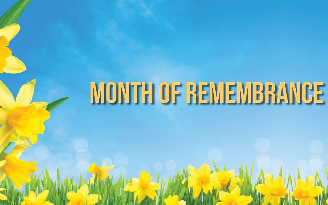 Update: 2020 Month of Remembrance Gallery