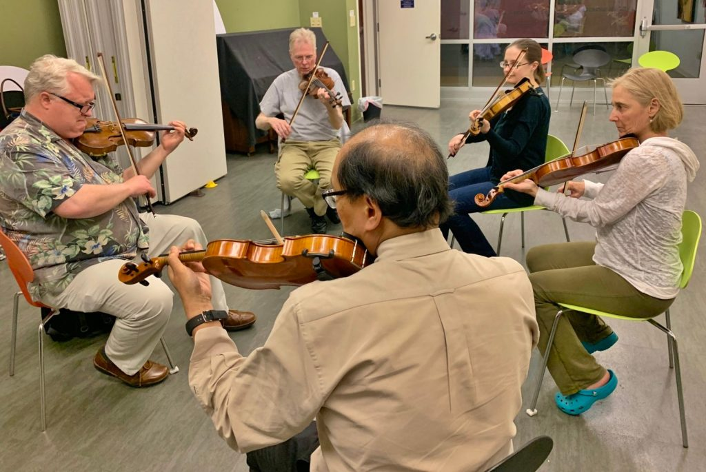 Irish Fiddle class