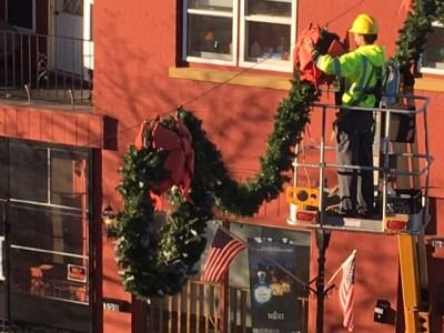 WB Christmas decorations