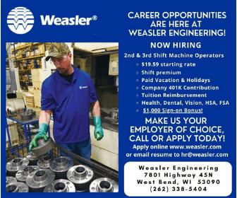 weasler jobs