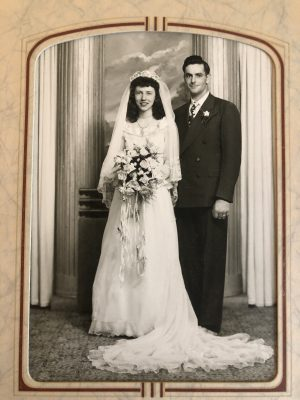 Franklin and Margaret Bales celebrate 70th wedding anniversary.