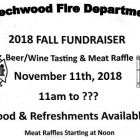 Beechwood FIre Department Fall Fundraiser