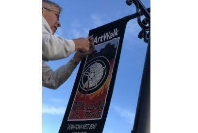Removing banners from ArtWalk