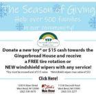 Donate toys Bob's Auto