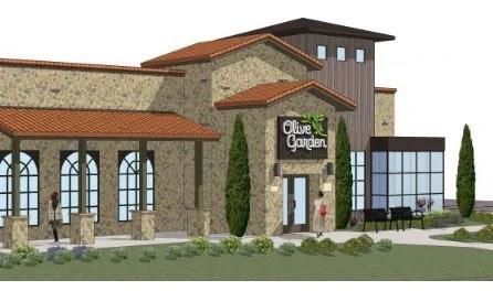 Olive Garden Rendering for Menomonee Falls