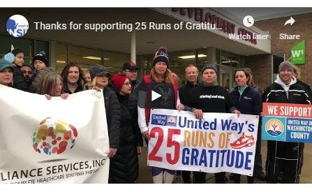 25 Runs of Gratitude