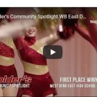 Colder's ad with WB East Dance