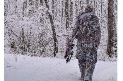 Deer hunting in January