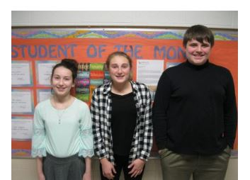 Holy Angels Students of the month