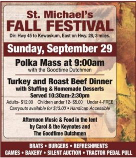 St. Michael's Fall Festival