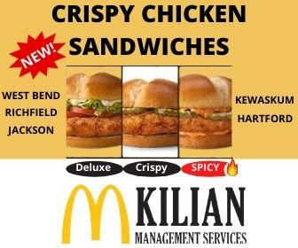 McD chicken sandwiches