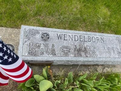 veteran, flag, memorial, wendleborn