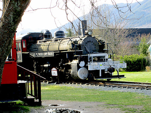 Snoqualmie Train Depot in Snoqualmie, Washington
