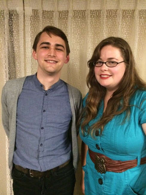 Our Pulling Focus participants: Producer Lacey Leavitt and Moderator Nathan Weinbender.