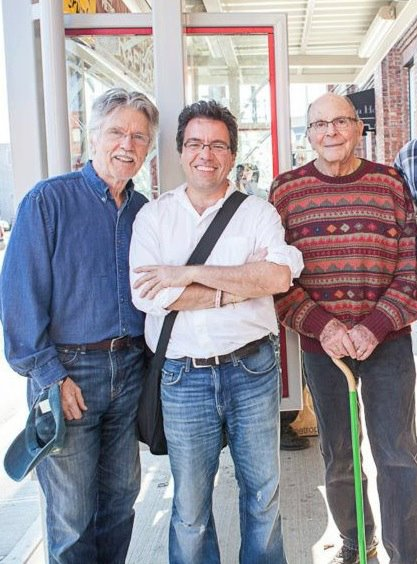 Tom Skerritt, Warren Etheredge, and Stewart Stern.