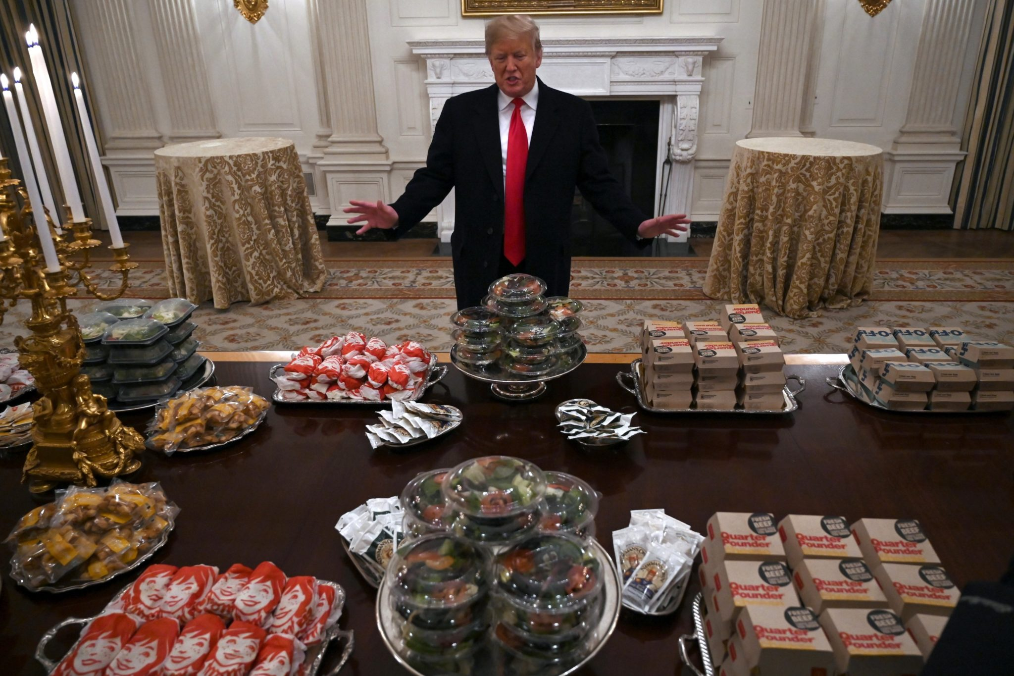 Why Trump S Fast Food Choice Was Better Than A Local