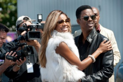 "Gabrielle Union and Chris Rock star in the comedy satire ""Top Five."""