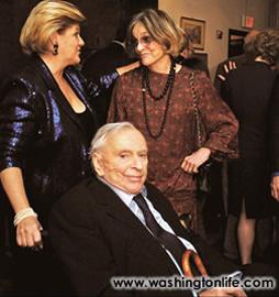 Deborah Gore Dean, Gore Vidal and Nina Gore Auchincloss Straight