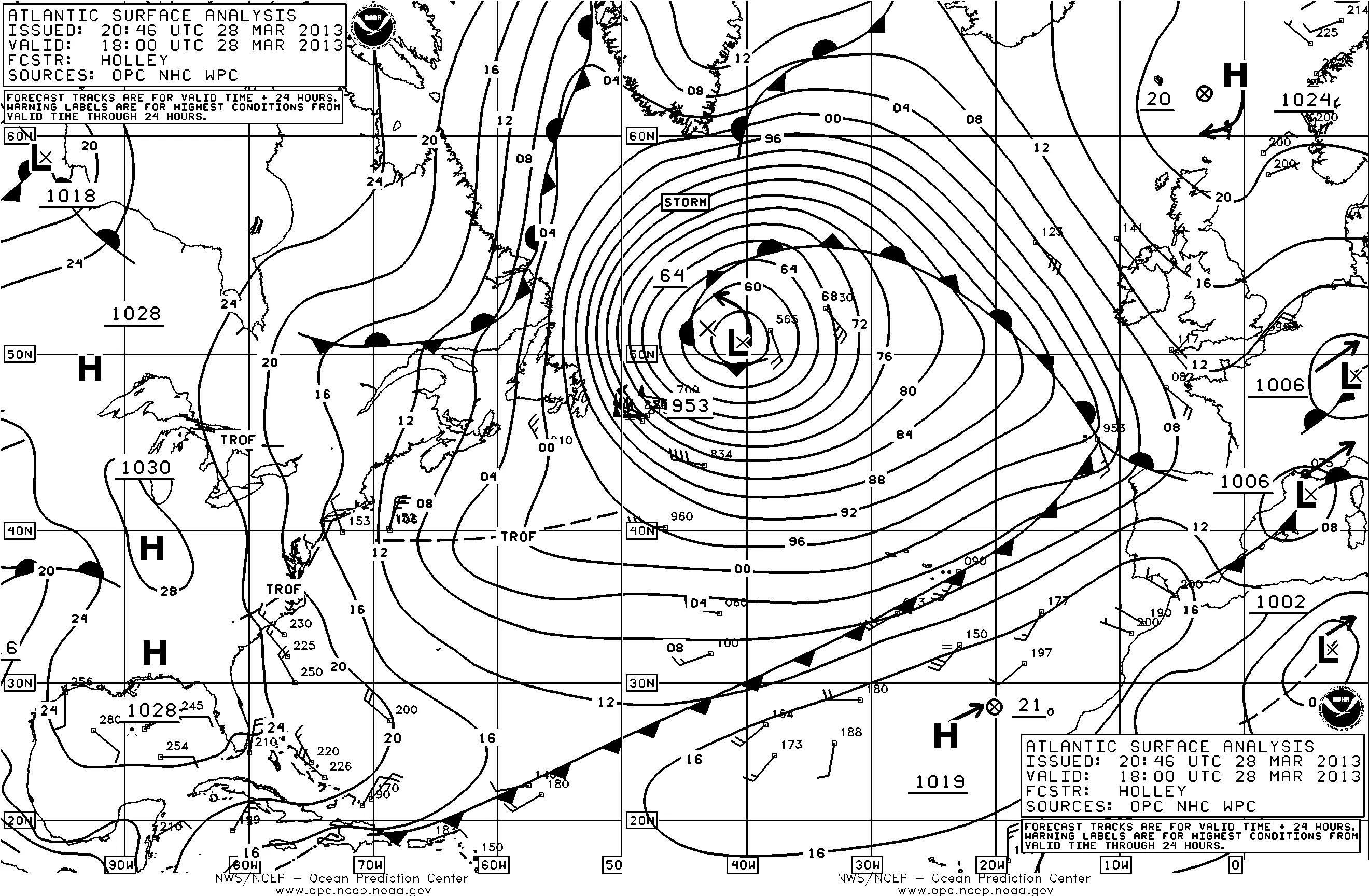 (Ocean Prediction Center)