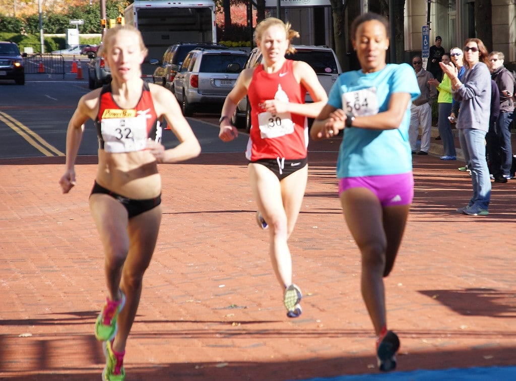 The top finishers in the women's competitive division. (Leanne Littman)