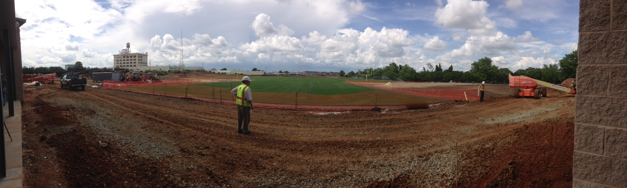 Redskins training camp facility