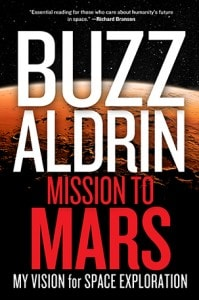 """The cover of """"Mission to Mars"""" by Buzz Aldrin."""
