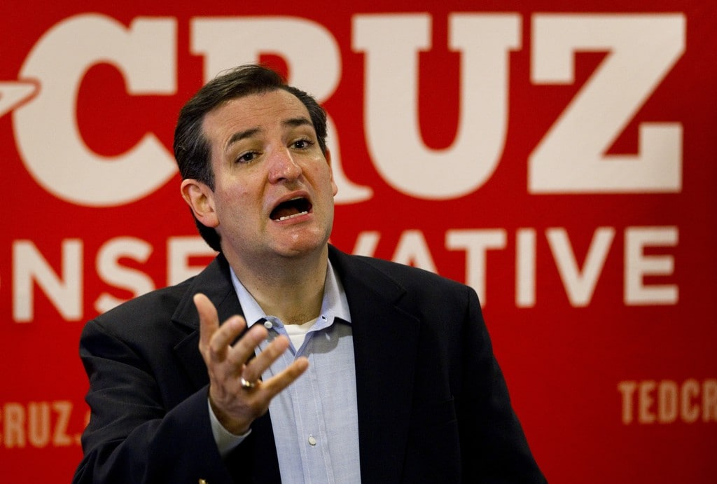 Texas Sen. Ted Cruz. AP photo.