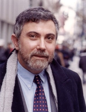 And in this corner, we have Paul Krugman, Princeton economist and New York Times columnist