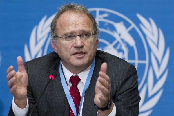 Christof Heyns, the UN special rapporteur for extrajudicial, summary, or arbitrary executions, has said that the drone program may constitute a war crime. (AP)