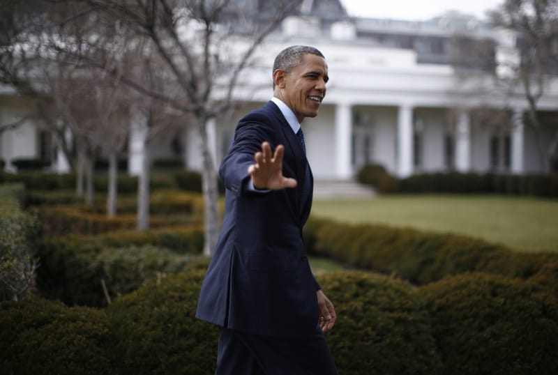 President Obama is waving goodbye to traditional journalism too quickly. (REUTERS/Jason Reed)