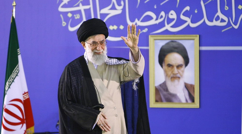 Iranian supreme leader Ayatollah Ali Khamenei. If you're not sure how to say his name, or the name of his country, read on. (AFP/Getty)