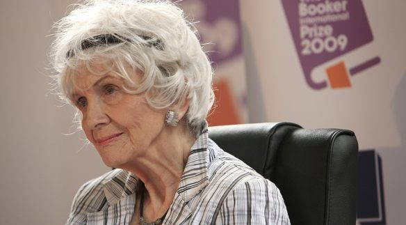 Canadian author Alice Munro (PETER MUHLY/AFP/Getty Images)