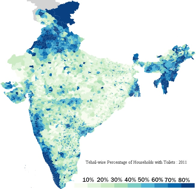 Data source: Indian census, 2011 (Avinash Celestine / Data Stories)