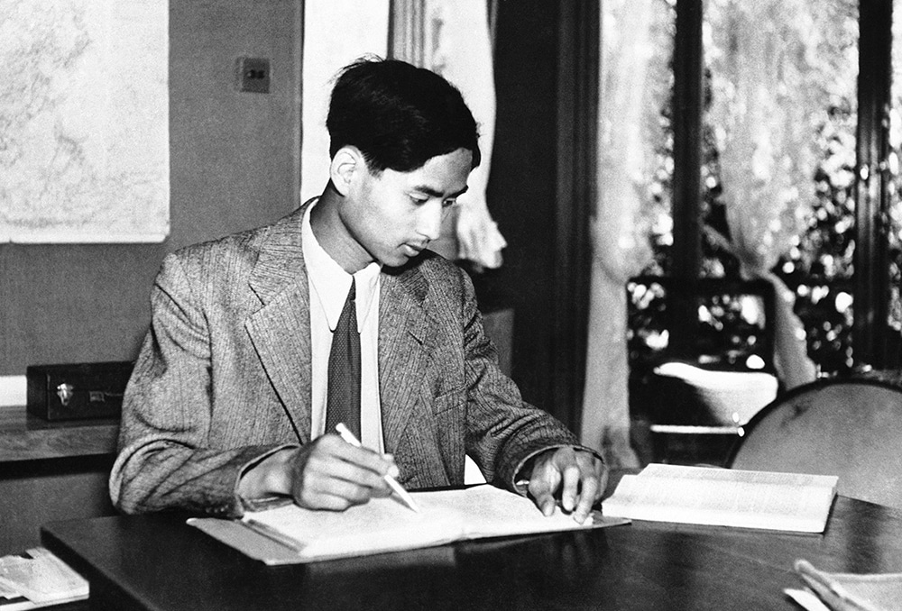 The death of young King Ananda Mahidol played a key role in the 1947 coup. (AP)