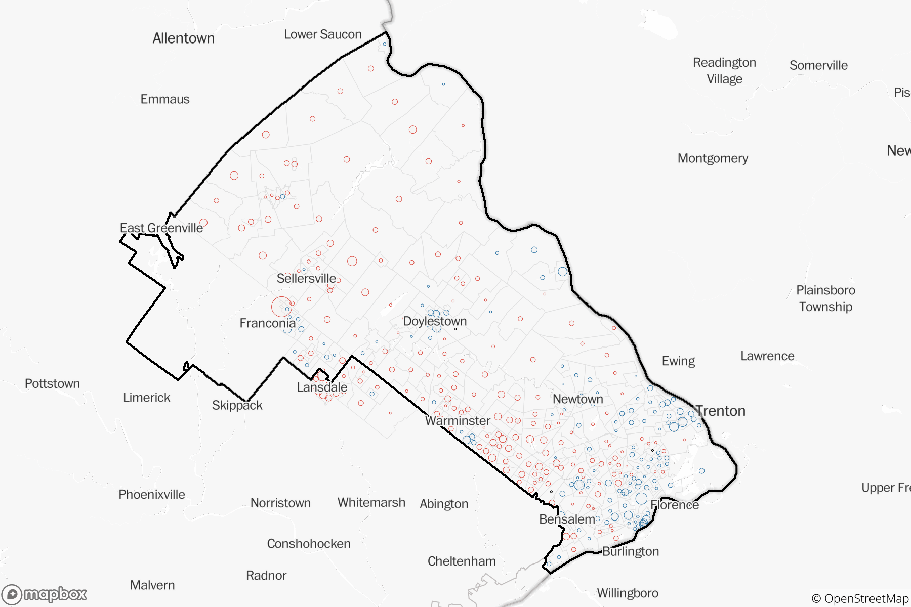 Precinct Level Results Detailed Maps Show How Key Neighborhoods Voted In The Midterms