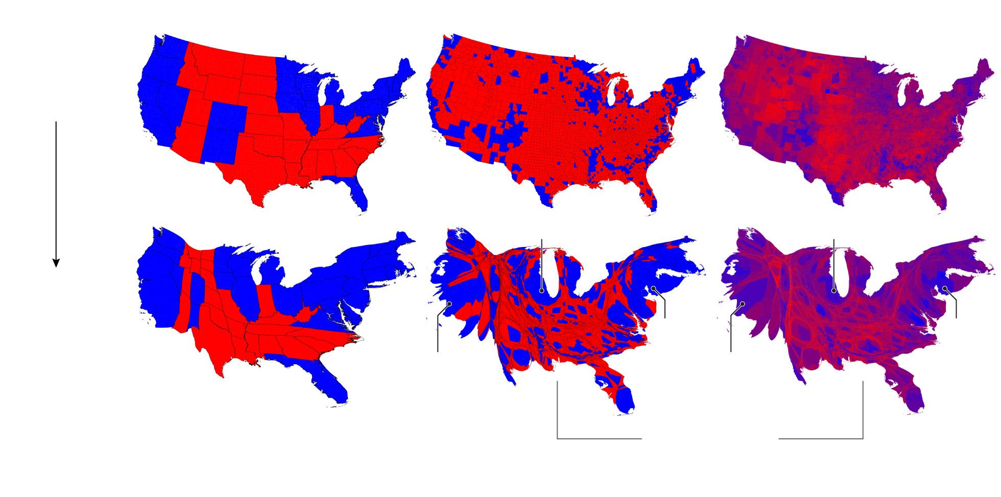 County Georgia Map Long