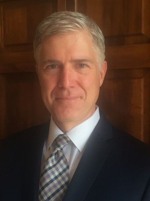 Judge Neil Gorsuch, President Trump's nominee for the Supreme Court.