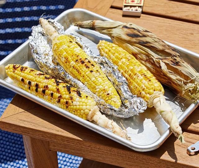 Grilled Corn Four Ways