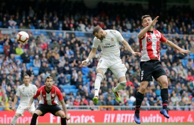 Benzema hits hat trick for Madrid in 3-0 win over Bilbao