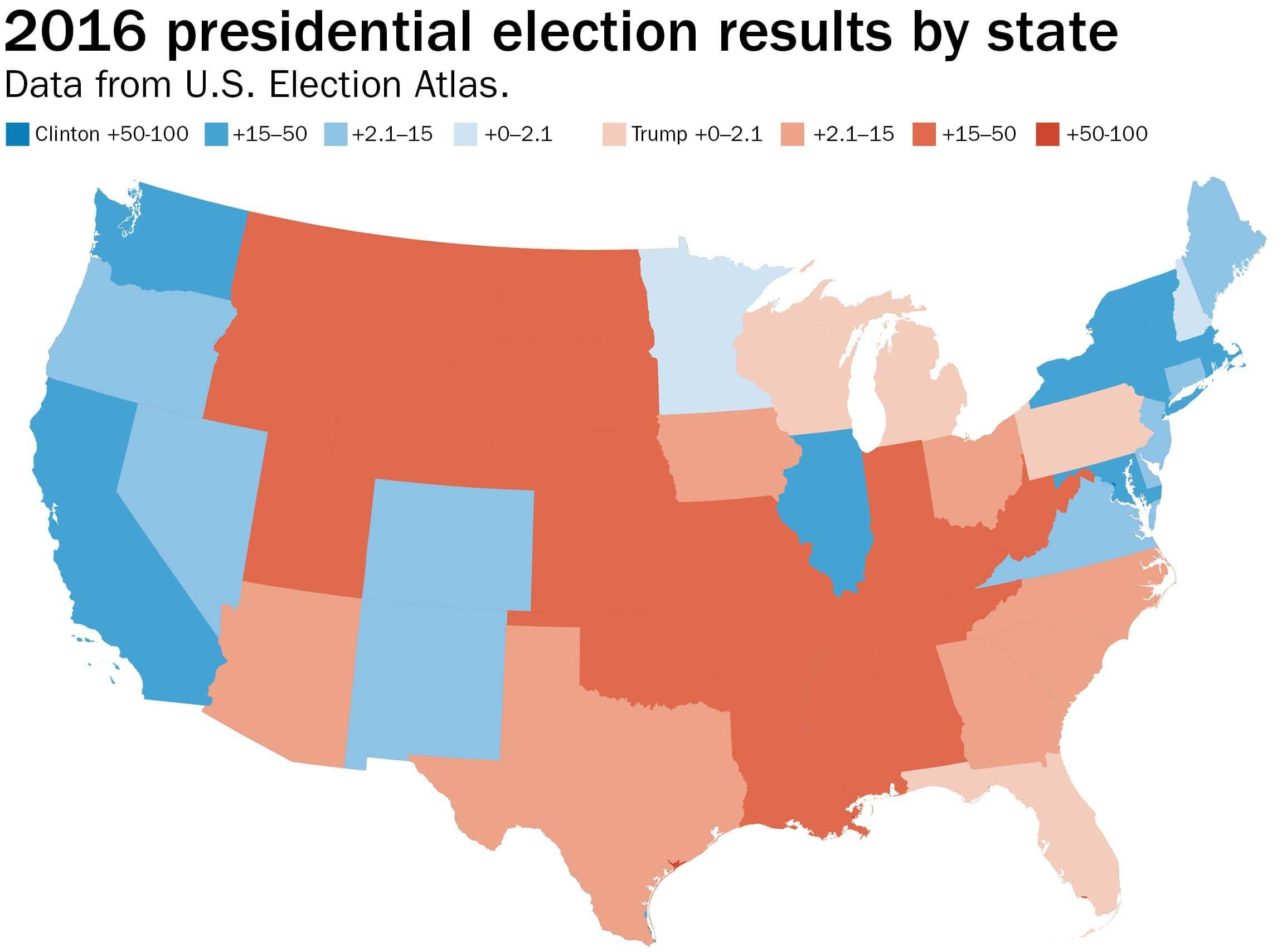 Printable Electoral College Map