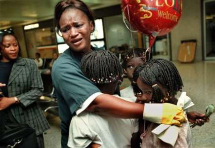How a  20 tip cost an immigrant her job at Dulles Airport and     As children from Sierra Leone arrive at Dulles International Airport in  2000  airport worker Isata Jalloh hugs them and cries  Recently  she was  fired from