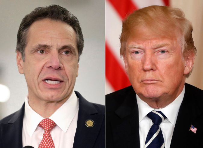 Image result for New York Gov. Andrew Cuomo (D)